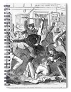 New York: Draft Riots Spiral Notebook