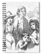 Children: Types Spiral Notebook