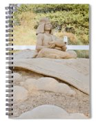 Fairytale Sand Sculpture  Spiral Notebook
