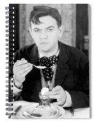 Film Still: Eating & Drinking Spiral Notebook