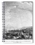 French Revolution, 1790 Spiral Notebook