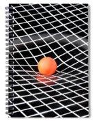 Gravity Simulation Spiral Notebook