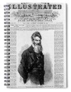 John Brown, American Abolitionist Spiral Notebook