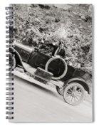 Silent Film: Automobiles Spiral Notebook