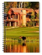 9th Hole's Occasional Water Hazard Spiral Notebook
