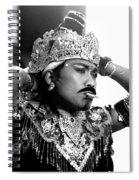 A Balinese Smoke Spiral Notebook