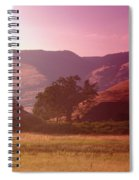 A Barn Near Rowena Oregon    Spiral Notebook