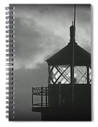 A Beacon In The Night Spiral Notebook