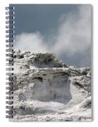 A Beautiful Geyser Spiral Notebook