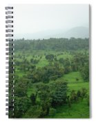 A Beautiful Green Countryside Spiral Notebook