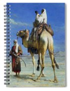 A Bedoueen Family In Wady Mousa Syrian Desert Spiral Notebook