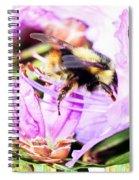 A Bees World Spiral Notebook