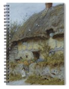 A Berkshire Cottage  Spiral Notebook