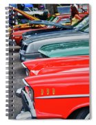 A Blast Of Color - Auto Row 7708 Spiral Notebook