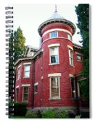 A Brick House With A Turret Spiral Notebook