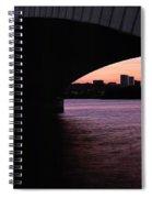 A Bridge To Rossalyn Spiral Notebook