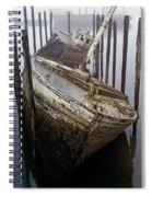 A Broken Boat Spiral Notebook