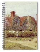 A Buckinghamshire House At Penstreet Spiral Notebook