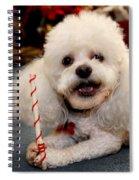 A Candycane For Puppy Spiral Notebook