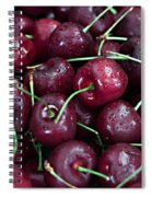 A Cherry Bunch Spiral Notebook
