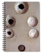 A Clogged Up 5 Point Electric Plug Point Spiral Notebook