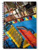 A Colorful Bar Spiral Notebook