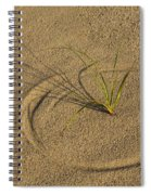 A Compass In The Sand Spiral Notebook
