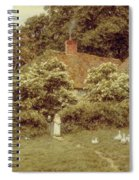 A Cottage At Farringford Isle Of Wight Spiral Notebook