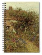 A Cottage Near Brook Witley Surrey Spiral Notebook