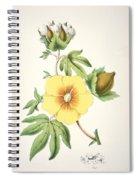A Cotton Plant Spiral Notebook