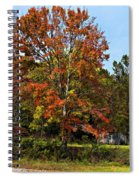 A Country Place Painted Spiral Notebook