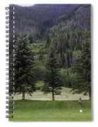 A Day At The Park In Vail Spiral Notebook