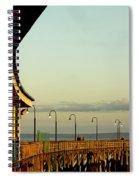 Playland Rye Beach Pier Spiral Notebook