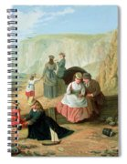 A Day At The Seaside Spiral Notebook