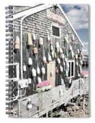 A Day In Bar Harbor Spiral Notebook