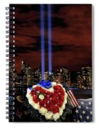 A Day Of Remembrance Nine Eleven Spiral Notebook