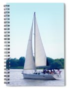 A Day Of Sailing Spiral Notebook