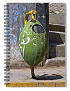 A Design Principle...plan Ahead Spiral Notebook