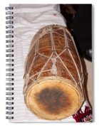 A Dholak Which Is A Musical Instrument  Spiral Notebook