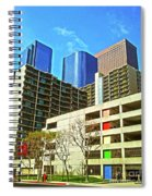 A Different Perspective On Downtown Los Angeles I Spiral Notebook