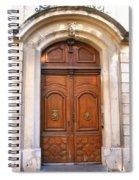 A Door In Arles Spiral Notebook