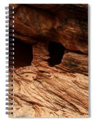 A Double Arch Spiral Notebook