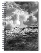 A Dusting Of Snow  Spiral Notebook