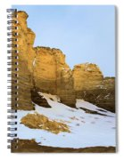 A Dusting On Monument Rocks Spiral Notebook