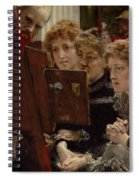 A Family Group Spiral Notebook