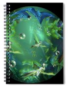 A Few Egrets Spiral Notebook