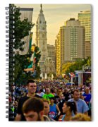 A Few People Showed Up Spiral Notebook