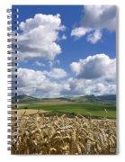 A Field Of Barley . Auvergne. France Spiral Notebook