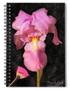 A Flora Is Natures Painting Spiral Notebook