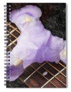 A Flower Music And Romance Spiral Notebook